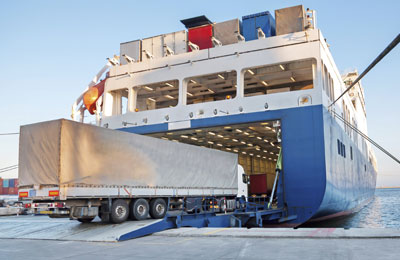 Book Comanav Freight Ferries online