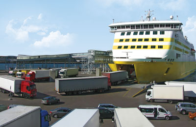 Book Freight Ferries to France & Italy online